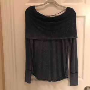We the Free /Anthropologie cowl neck size M